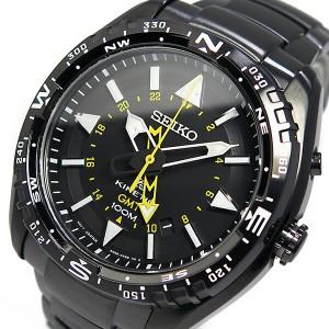 レビューで次回2000円オフ 直送 セイコー プロスペックス キネティック クオーツ 腕時計 SUN047P1 ブラック
