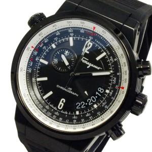 レビューで次回2000円オフ 直送 サルヴァトーレ フェラガモ FERRAGAMO メンズ クロノ 腕時計 FQ202-0013