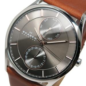 レビューで次回2000円オフ 直送 スカーゲン SKAGEN クオーツ メンズ 腕時計 SKW6086 グレー