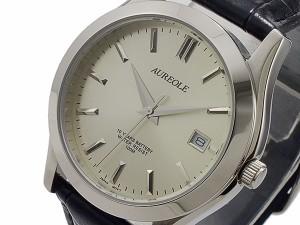 レビューで次回2000円オフ 直送 オレオール AUREOLE クオーツ 腕時計 SW-409M-7