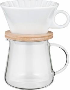 AGCテクノグラス [4905284155223]コーヒーポット&ドリッパー K9964-M【5400円以上送料無料】