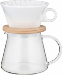 AGCテクノグラス [4905284155230]コーヒーポット&ドリッパー K9966-M【5400円以上送料無料】