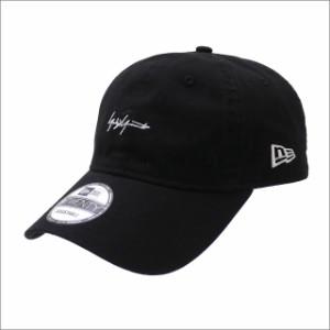 (2018新作・新品)Yohji Yamamoto(ヨウジヤマモト) x NEW ERA 9TWENTY CAP BLACK 250-000438-011+【新品】(ヘッドウェア)