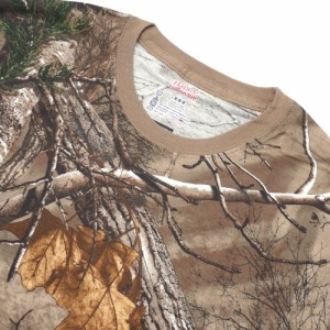 (新品)SUPREME(シュプリーム) x Hanes Realtree Tagless Tees(2 Pack) WOODBINE 200-007652-049x【新品】(半袖Tシャツ)