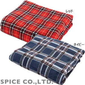 スパイス チェックブランケット NHLN2711 タータン (ひざ掛け 毛布)