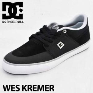 DC スニーカー ディーシー WES KREMER ウェス クレマー Black/Grey/White XKSW スケシュー