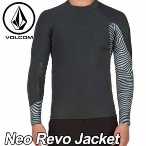 VOLCOM ボルコム メンズ サーフ ラッシュガード ウェット タッパー 水着 Neo Revo Jacket 1.5mm VOLCOM ヴォルコム /メール便不可【返品