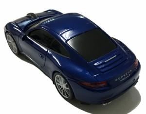 AUTOMOUSE オートマウス PORSCHE911(991)CARRERA S ブルー ポルシェ カレラS型ワイヤレスマウス 2.4GHz