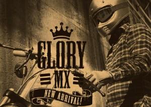 【送料無料】RIDEZ ライズヘルメット HELL G-MX ホワイト 57-59cm ビンテージオフロードヘルメット SG規格