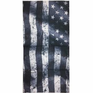 【ゆうパケット対応】PIPES パイプス シームレスマルチファンクションバンダナ PPS068 星条旗 フリーサイズ