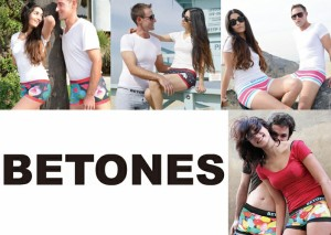 【ゆうパケット対応2枚迄】BETONES ビトーンズ CLIVE CVE001-01NAVY フリーサイズ ボクサーパンツ アンダーウエア