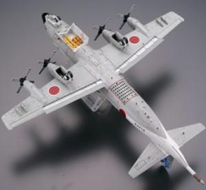 トミーテック 技MIX 航空機シリーズ P-3C 第5航空隊 AC305 那覇基地 1/144プラモデル 彩色済み