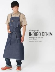 BEN DAVIS ベンデイビス エプロン 大きいサイズ 男性用 エプロン おしゃれ デニム 作業着 作業服
