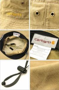 Carhartt カーハート キャップ メンズ 大きいサイズ 帽子 キャップ ブーニーハット ジャングルハット ミリタリー 迷彩