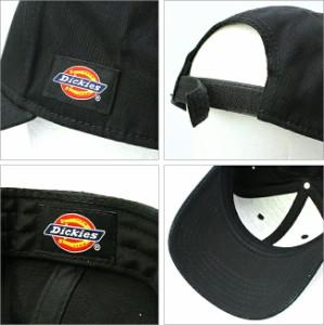ディッキーズ Dickies キャップ メンズ 大きめ 大きいサイズ 帽子 無地 キャップ メンズ アメカジ 帽子 メンズ キャップ ブラック
