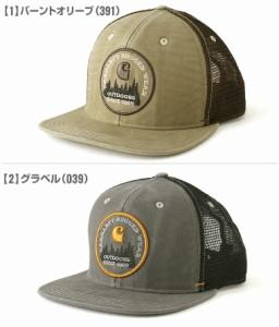 Carhartt カーハート キャップ メンズ メッシュ 大きいサイズ 帽子 キャップ メッシュキャップ メンズ アメカジ ブランド