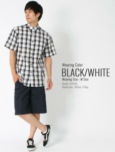 Dickies ディッキーズ シャツ 半袖 メンズ チェックシャツ 大きいサイズ メンズ 半袖シャツ メンズ カジュアル