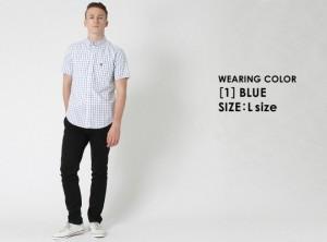 シャツ メンズ 半袖 ボタンダウンシャツ 半袖 ボタンダウン 半袖 チェック柄 チェックシャツ 半袖 メンズ 半袖シャツ メンズ