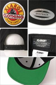 X-LARGE エクストララージ xlarge キャップ メンズ スナップバック 帽子 スナップバックキャップ 帽子 メンズ キャップ ストリート