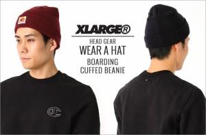 X-LARGE エクストララージ xlarge ニットキャップ メンズ ニット帽 ニットキャップ メンズ キャップ メンズ 帽子 ニット帽 ビーニー