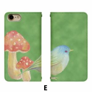 スマホケース 手帳型 DIGNO E 503KC 携帯ケース 503KC 鳥 Y!mobile DIGNO カバー bn372