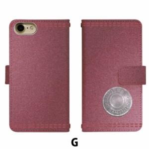 スマホケース 手帳型 Qua phone QX KYV42 携帯ケース KYV42 デニム調 au Qua phone カバー di119