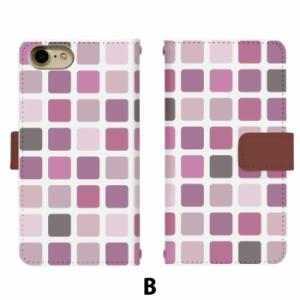 スマホケース 手帳型 Disney Mobile DM-01J 携帯ケース DM-01J タイル docomo Disney Mobile カバー di132