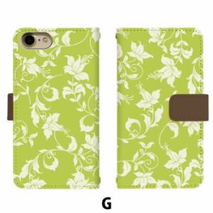 スマホケース 手帳型 アイフォン6プラス iPhone6 plus 携帯ケース iPhone6Plus フラワー15 apple iPhone カバー di228