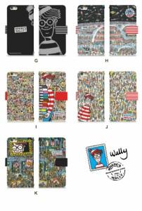スマホケース 手帳型 GALAXY Note Edge SC-01G 携帯ケース SC-01G ウォーリーをさがせ docomo Galaxy カバー di355