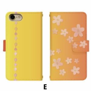 スマホケース 手帳型 AQUOS CRYSTAL Y 402SH 携帯ケース 402SH 桜 Y!mobile AQUOS カバー di360