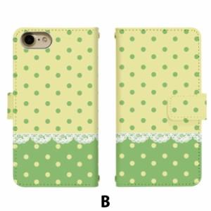 スマホケース 手帳型 アイフォン6プラス iPhone6 plus 携帯ケース iPhone6Plus ドットレース apple iPhone カバー di089