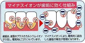 【メール便発送】天然鉱石配合 歯ブラシ(3本セット)