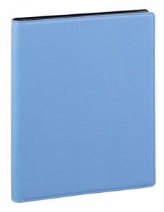 (まとめ買い)レイメイ藤井 ノフェス バインダー A5 ブルー QE172A 〔3冊セット〕