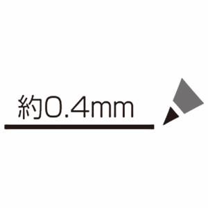 (まとめ)シヤチハタ エルゴライン サインペン 0.4 黒 K-3400クロ 〔まとめ買い×10セット〕