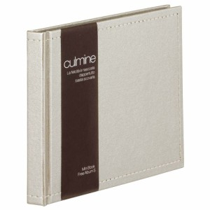 (まとめ買い)セキセイ クルミネ ミニブックアルバムS 黒台紙 ゴールド CUL-652-43 〔3冊セット〕