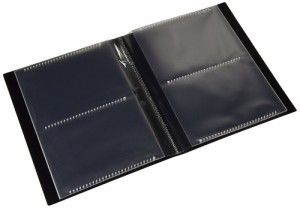 セキセイ ポケット フォトアルバム 高透明 KGサイズ80枚収容 ホワイト KP-80P-70