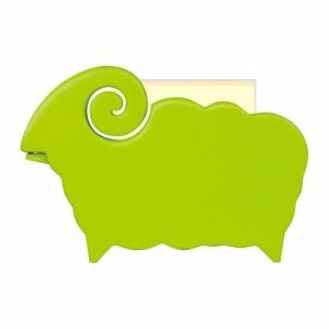 (まとめ買い)セキセイ ペニンシュラ アニマルスタンド メモスタンド 羊 ライトグリーン PN-1015-33 〔3個セット〕