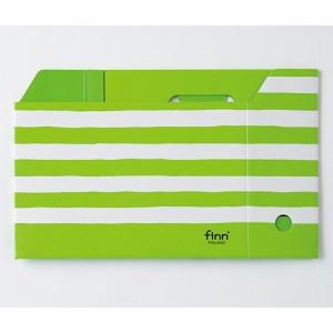 セキセイ フィンダッシュ ボックスファイル A4 ヨコ パンプキン FINN-7791-53