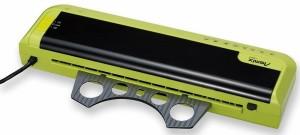 【送料無料】(まとめ買い)アスカ 2ローラー ラミネーター A3対応 グリーン L204A3G 〔3台セット〕