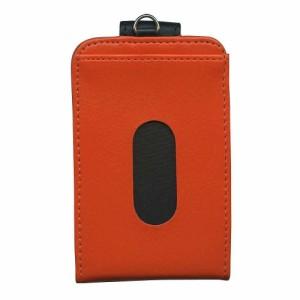 (まとめ)コレクト カードホルダー 薄型アコーディオン式 オレンジ CP-608X-OR 〔まとめ買い×5セット〕