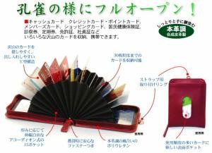 【メール便発送】コレクト カードホルダー アコーディオン式 ピンク CP-615X-PI