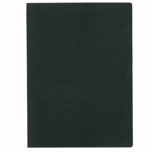 (まとめ買い)コレクト ノートカバー本革調(合成皮革製) A4判 黒 CP-44X-BK 〔5冊セット〕