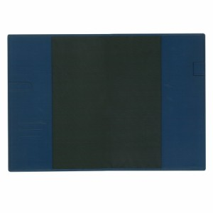 (まとめ)コレクト ノートカバー本革調(合成皮革製) A4判 紺 CP-44X-BL 〔まとめ買い×5セット〕