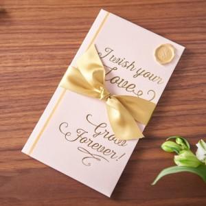 (まとめ買い)マルアイ 祝儀袋 結婚祝い A WORD ベビーピンク キ-W10 〔×5〕
