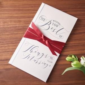 (まとめ)マルアイ 祝儀袋 結婚祝い A WORD ホワイト キ-W11 〔まとめ買い×5セット〕