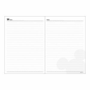 (まとめ買い)ダイゴー 手帳 2018年 ディズニー 1週間+横罫 フェイスミックス B6 レッド E6099 〔3冊セット〕