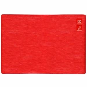 (まとめ買い)ダイゴー 大きく書ける住所録 A5 レッド H8080 〔2冊セット〕