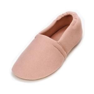 介護靴 室内用 エスパドワイド 2704 両足 徳武産業 あゆみシリーズ /S(20.5〜21.5cm) ピンク