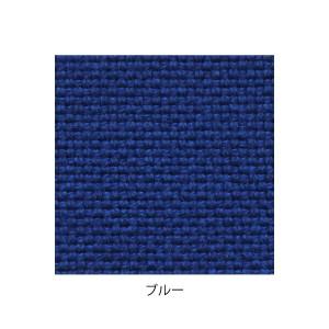 デザイナーズスツール キャスター付き クリア(布:ブルー/エラストマー)〔Mona.Dee〕モナディー WAS01SC