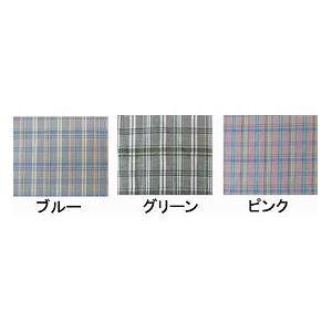 萬楽 マンラク1型ねまき 夏用 /1201 S ブルーチェック